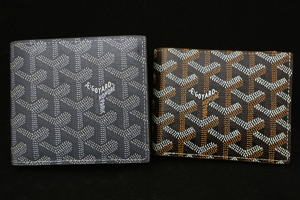 Goyard Wallet Real Vs Fake