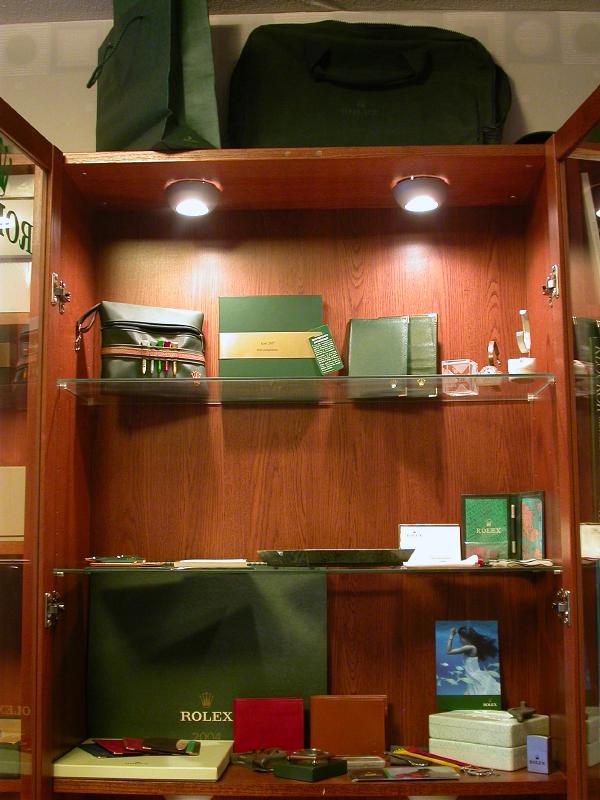 Rolex dealer window display for Window dealers