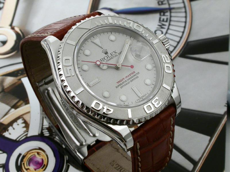Leather Band On Yachtmaster Rolex Forums Rolex Watch Forum